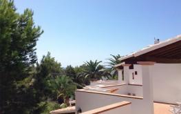 Estudi de lloguer Blaumar Formentera - terrassa